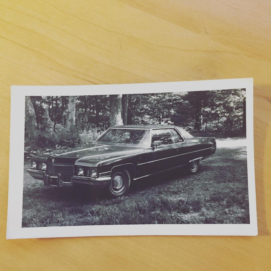 My first American car( Cadi coupe Deville) outside Nev and ...