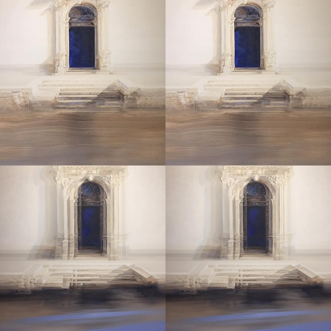 Doorways to the interior. New friend and artist Roger De Montebello @rogerdemontebello