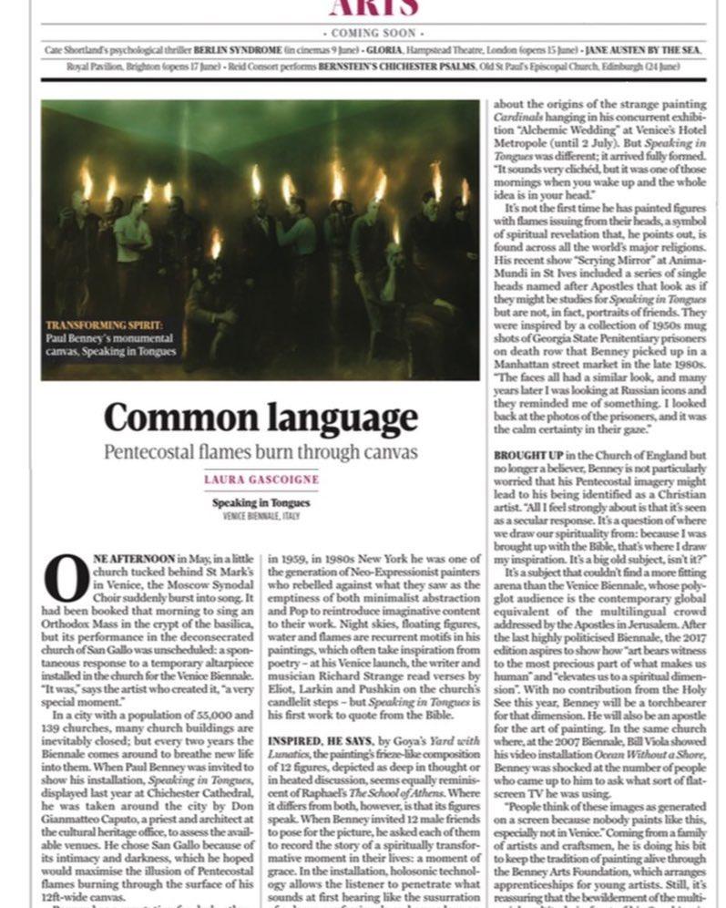 Thanks Laura Gascoigne for this thoughtful piece. @laura.gascoigne
