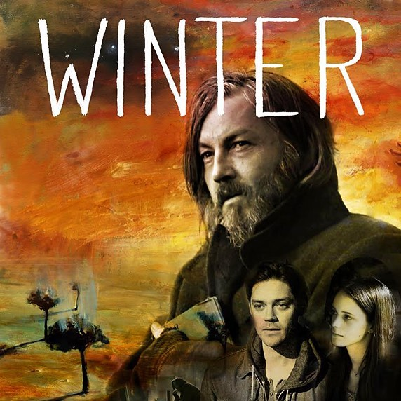 'Winter', premiering tonight in the USA @flixpremiere simply moving and powerful film, starring @tommyflanaganofficial . Also featuring some of my paintings.