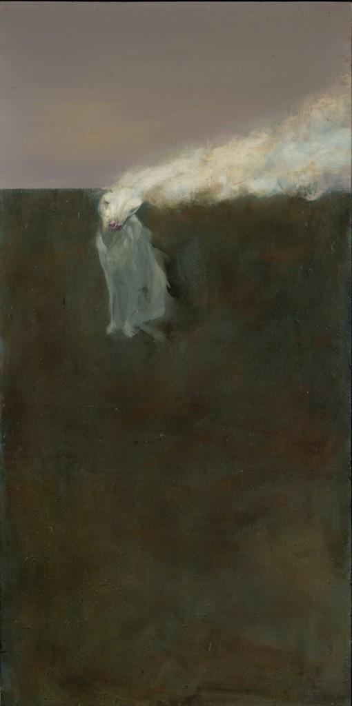 Albino, 1992. 117 x 71 cm [46 x 27.9in]. Oil on Panel.