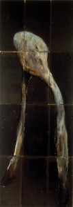 Desire, 1988. 223 x 84 cm [91.7 x 33in]. Oil on Slate.