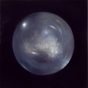 Air,  2001. 152 x 152 cm [59.8 x 59.8in]. Oil on Canvas. AIG Houston.