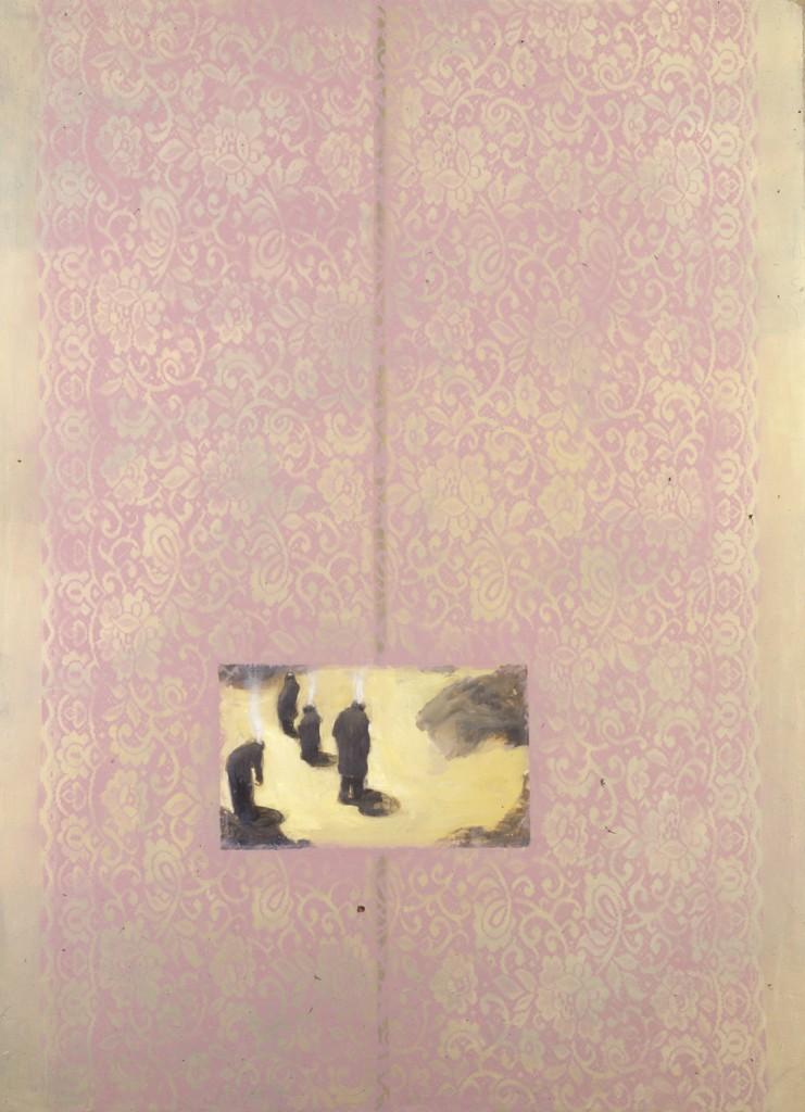 Cartographers,  1994. 109 x 147 cm [42.9 x 57.8]. Oil on Canvas.