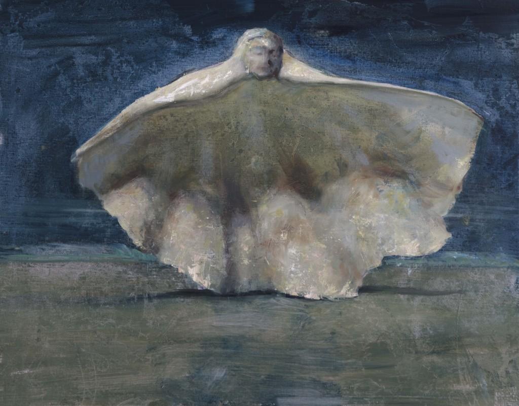 Conceptus, 2018. 56 x 71 cm. (22 x 28 in) Oil on Canvas.