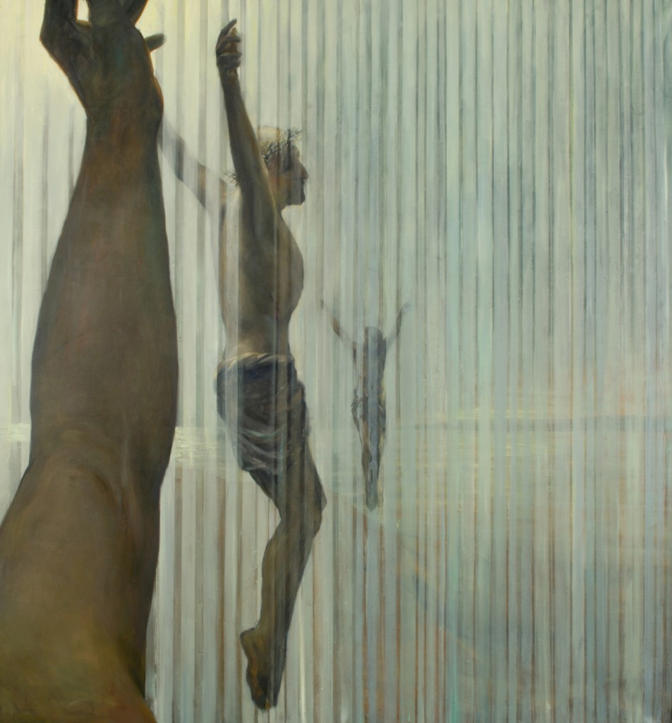 Crucifixion, 2015. 167 x 180 cm [66 x 71in]. Oil on Canvas.
