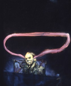 Dischord, 1990. 61 x 51 cm [24 x 20in]. Oil on Canvas.