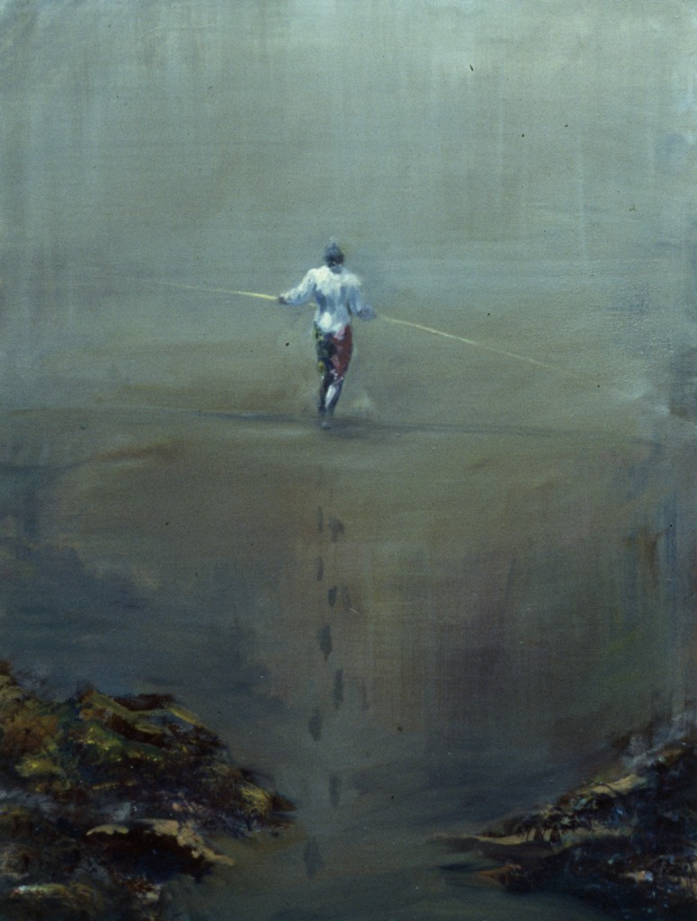 Diviner, 1994. 76 x 61 cm [29.9 x 24in]. Oil on Canvas.
