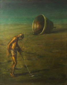 Diviner, 2011. 51 x 41 cm [20 x 16in]. Oil on Canvas.