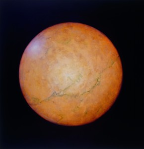 Earth,  2001. 152 x 152 cm [59.9 x 59.9in]. Oil on Canvas. AIG Houston.