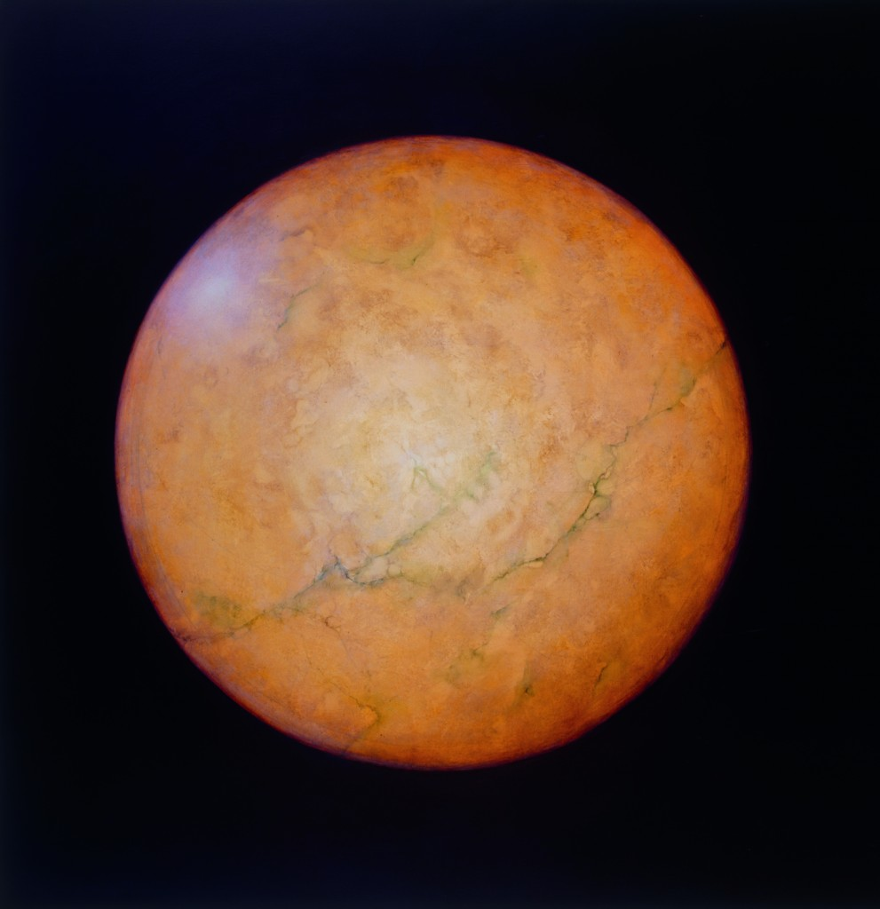 Earth,  2001. 152 x 152 cm [59.9 x 59.9in]. Oil on Canvas. AIG Houston.