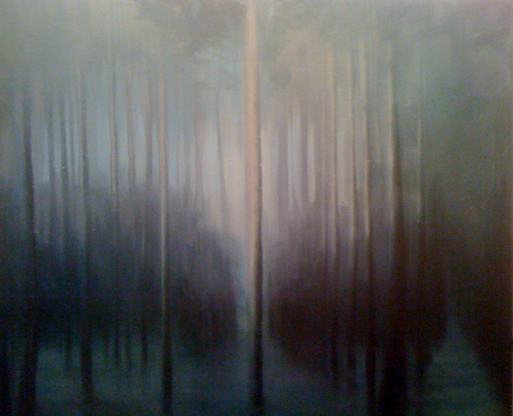 I Came unto Myself in a Dark Wood, 2011. 171 x 183 cm [67 x 72in]. Oil on Canvas.