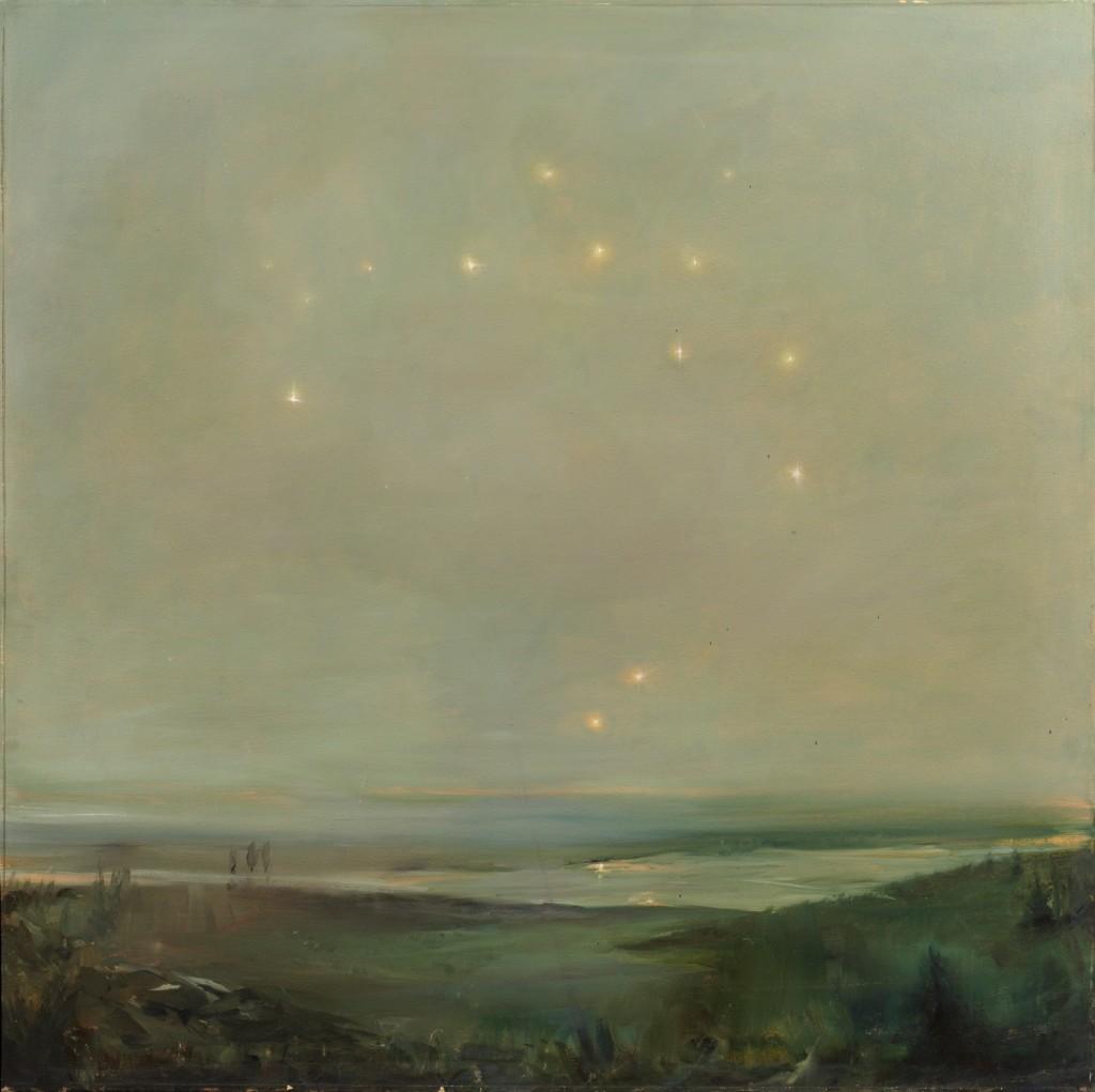 Iken, 2010. 91 x 91 cm [38.8 x 38.8in]. Oil on Canvas.