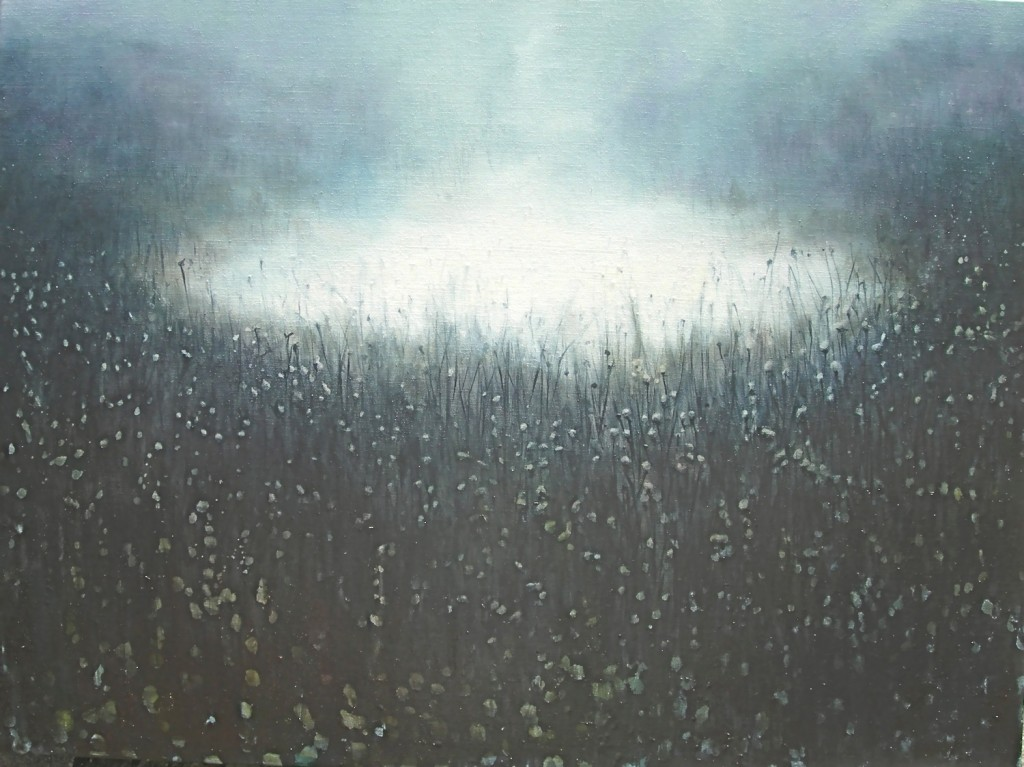 Into the Morning, 2008. 86.5 x 107 cm [34 x 42in]. Oil on Canvas.