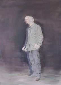 Janus I, 2015. 91 x 66 cm [36 x 26 in]. Oil on Board.