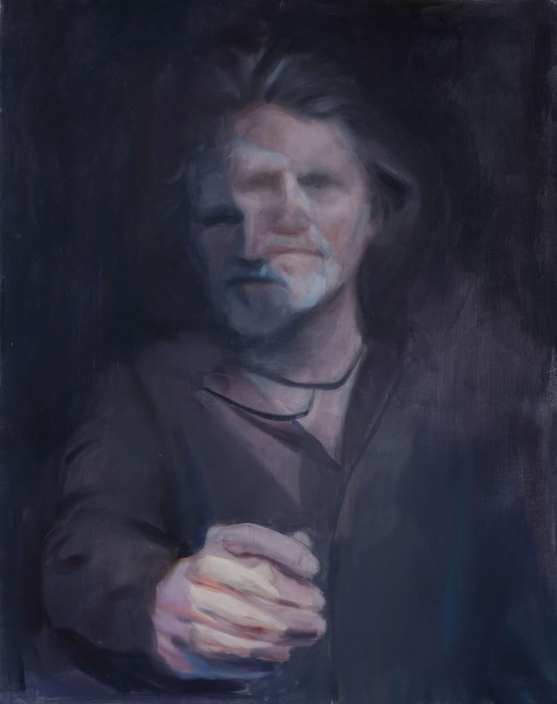 Janus II, 2015.  71 x 56cm [28.25  x 22 in]. Oil on Canvas.