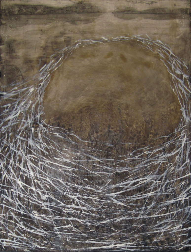 Keiko, 1985. 102 x 76 cm [40 x 29.9in]. Oil and Photochemical on Canvas. Private Collection.