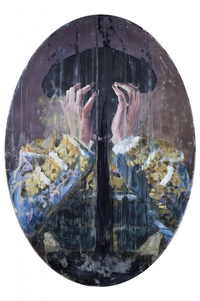 Tauro Maquillaje, 2015. 66.5 x 47 cm. Oil on Board.