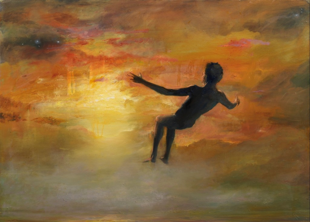 Levitation, 2011. 92 x 122 cm [36.2 x 48in]. Oil on Canvas.