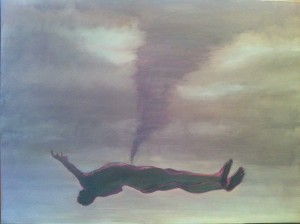Levitation [Sometimes I Dream of You], 2012. 91 x 122 cm [35.8 x 48in]. Oil on Canvas.