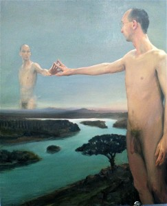 Narcissus, 2011. 152 x 122 cm [59.8 x 48in]. Oil on Canvas.