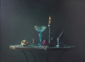 Nature Mort [Still Life],  2007. 107 x 76 cm [42 x 29.9in]. Oil on Canvas.