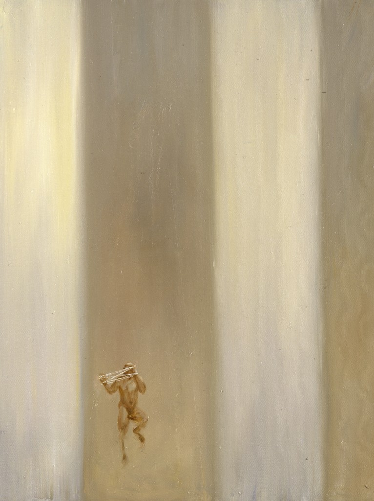 The Counsellor of Just Torments,  1995. 46 x 36 cm [18 x 14in]. Oil on Canvas.
