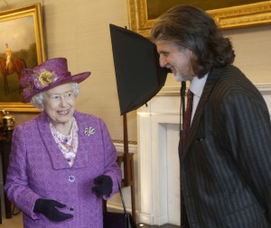 Paul Benney with HM Queen Elizabeth II
