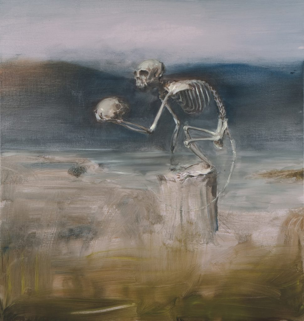 Vanitas I, 2017. 75 x 70 cm. Oil on Canvas. Private Collection.
