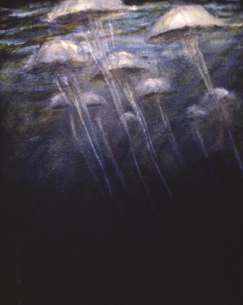 The Virtues 1988. 51 x 41 cm [20.4 x 16in]. Oil on canvas.