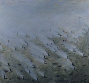 Walker, 2012. 182 x 168 cm [71.6 x 66in]. Cleaned - WEB. Oil on Canvas.