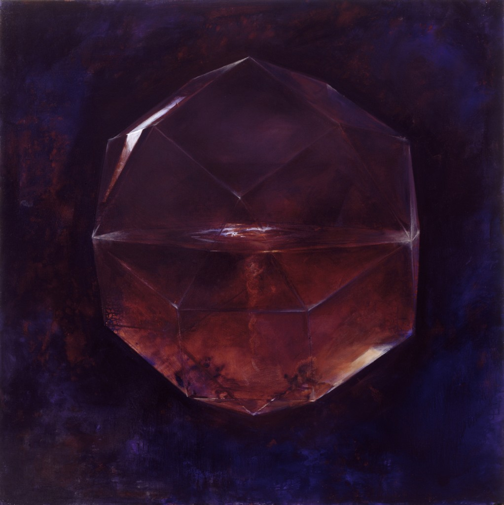 Water, 2001. 152 x 152 cm [59.8 x 59.8in]. Oil on Canvas. AIG Houston.
