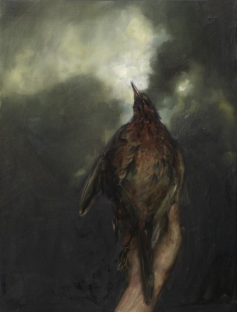 Weakening, 2009. 66 x 51 cm [25.9 x 20in]. Oil on Canvas.
