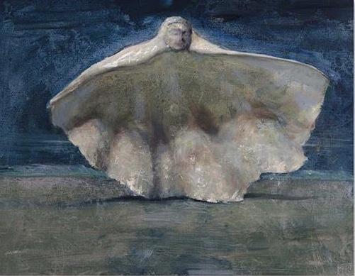 Conceptus 2018. 56 x 71 cm. (22 x 28 in) Oil on Canvas.