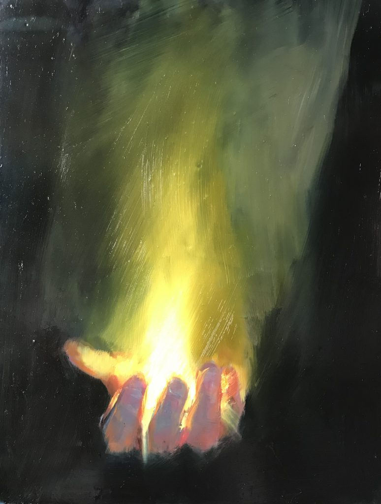 Hand Candle No. 5