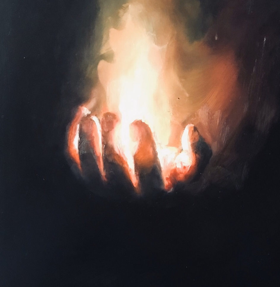 Hand Candle No. 4